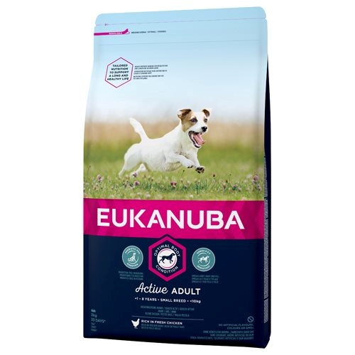 Eukanuba Active Adult Small 3 kg