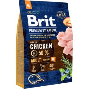 Brit Premium By Nature Adult Medium 3 kg